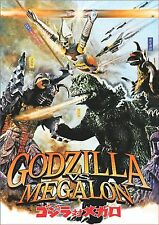 Godzilla Vs. Megalon   **NEW DVD**