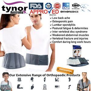 Tynor® Lumbar Support Back Belt Brace Lower Waist Spondylitis Osteoarthritis Uni