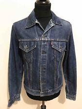 LEVIS VINTAGE '60 BIG E Giubbotto Jeans Uomo Indigo Man Denim Jacket Sz.L - 50