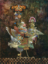 James Christensen; Butterfly Knight CANVAS; NEW, MINT CONDITION; 300 s/n