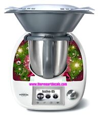 Thermomix TM5 Sticker Decal  (Code: Festive_05)