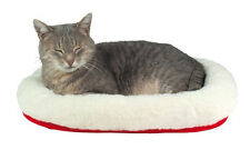 Cat Kitten Cuddly Bed, Reversible Warm Winter Cool Summer Soft Cosy 28631