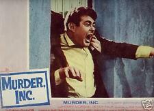 Lobby Card 1960 MURDER INC mafia death