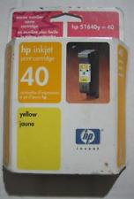 HP 40 (51640Y) Yellow/Color Ink Cartridge 5/2003