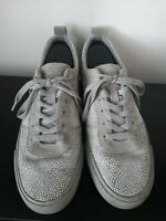 Mens Converse Cons Low Grey Lace Up Trainers - UK 9.5