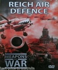 WEAPONS OF WAR - Reich Air Defence DVD + BOOK WORLD WAR TWO WWII BRAND NEW R0