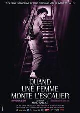 Affiche Pliée 120x160cm QUAND UNE FEMME MONTE L'ESCALIER 1960 Naruse R2017 NEUVE