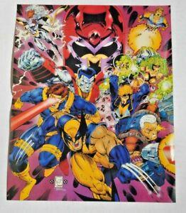 X-men Marvel Comics poster (1993, Tom Smith,12.75 x 10.25-inch, 2 sided) Magneto