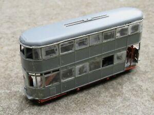 OO Gauge Kit Built Tram Model With Working Motor