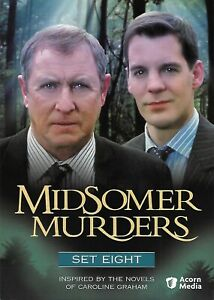 Midsomer Murders - Set 8 (DVD, 2007, 3-Disc Set)