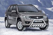 Front Cintres pare-buffles EC avec dispositif de protection arrière pour Suzuki Grand Vitara 12-15