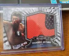 Yoshihiro Akiyama 2012 Topps UFC Bloodlines Jumbo Fighter Worn Relic #79/88
