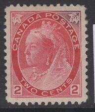 Canada SG155b 1900 2c rose carmine type 1b mtd mint SPACEFILLER