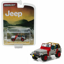 1993 Jeep Wrangler YJ Hobby Exclusive Blister Pack 1/64 Scale Greenlight 29856