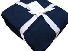 Pottery Barn Dark Blue Belgian Flax Linen Queen Sheet Set New