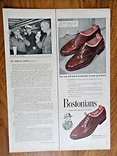 1951 Bostonians Shoes Ad Cordovans Wing Tips
