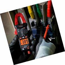 Digital Clamp Meter Mini Current Voltmeter Pliers Ammeter Capacitance Ohm Ht200b