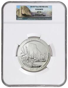 2010-P Yosemite America The Beautiful ATB 5 Oz Silver Coin NGC SP70