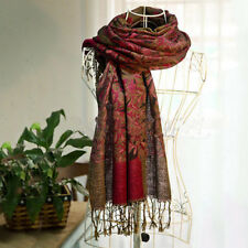 Womens Long Soft Cashmere Scarf Wrap Large Winter Shawl Stole Scarves Pashmina