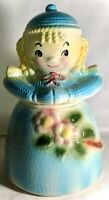 American Bisque Yarn Girl Cookie Jar