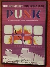 The Greatest Punk 18 Classic Hit Videos (2002 DVD) All Regions  Like New