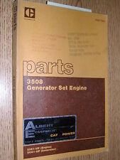 Cat Caterpillar 3508 Parts Manual Book Catalog Engine Generator Set 23Z1 &Up 5Ua