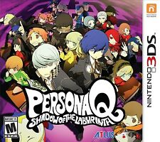 Persona Q: Shadow of the Labyrinth [Nintendo 3DS, NTSC, Atlus Mystery JRPG] NEW
