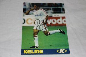 Photographie Ancienne Joueur Du Sevilla FC Jose Antonio Reyes Signature Original