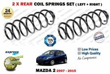 FOR MAZDA 2 1.3 1.4 1.5 1.6 MZR MZRCD 2007-2015 NEW 2X REAR COIL SPRINGS SET