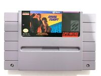 Rival Turf Super Nintendo SNES Game Tested + Working & Authentic!