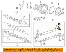 Chevrolet GM OEM 10-15 Camaro Axle Differential-Rear-Bearing 22810753