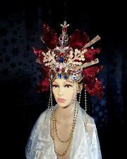 Festival Fantasy fancy dress photo shoot headdress SPARKLY