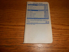 1985 FORD RANGER F-150 F-250 F-350 PICKUP TRUCK PRICE BOOK MODELS OPTIONS CODES