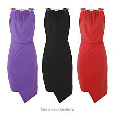 Calf Length Polyester Stretch, Bodycon Party Dresses