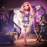 Monster High Viperine Gorgon LICHT AUS GRUSEL AN! New Stars in Hauntlywood BLX03