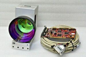 SCANLAB SCANcube14 532nm Laser Galvanometer Scan Head+ RTC4 Control Board