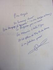 Envoi autographe /  LE DERNIER DÉFI DE GEORGES CLEMENCEAU Gilbert Prouteau