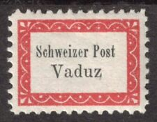 Liechtenstein Gemeinde-Botenpost Vaduz-Sevelen IA ungebraucht mit Falz Mi.700,-