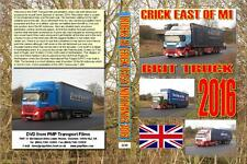 3239. Crick. UK. Trucks. January 2016. Another new location which we have been w