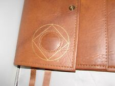 Narcotics Anonymous NA Basic Text How and Why TAN Deluxe Double Book Cover