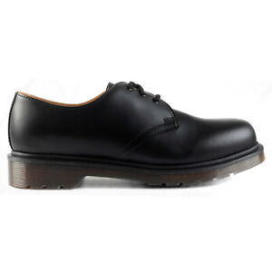 Dr. Martens Unisex Shoes 1461 PW Casual Lace-Up Low Profile Smooth Leather