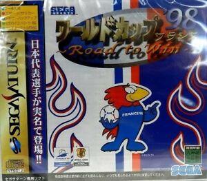 Sega Saturn WORLD CUP 98 FRANCE Soccer Japan