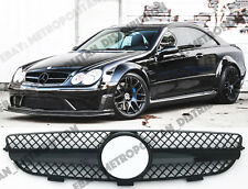 Mercedes C209, A, W209 2002-10 Calandre CLK63/55 AMG BLACK SERIES LOOK, brillant, CLK350