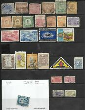 COLLECTION OF 28 USED COLUMBIA STAMPS
