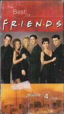 Friends - The Best of Friends Volume 4 (VHS, 2001) Jennifer Aniston Sealed