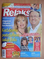 RELAKS 21/2016 Al Bano & Romina Power,Celine Dion,Edyta Gorniak,Jerzy Polomski