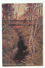 The Black Rock Gorge & Footbridge Novar Evanton Ross-shire Pre 1914 Hildesheimer