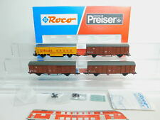 BL751-3# Roco H0/AC 44009 Set Güterwagen Circus Krone DB NEM, TOP+OVP
