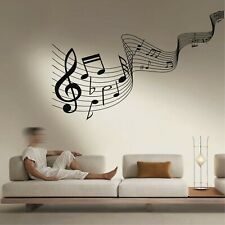 Metal Wall Decor, Music Time, Music Notes Wall Art, Music Decor Living Room 5381