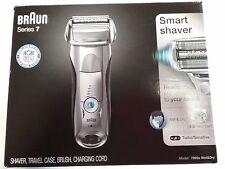 New BRAUN Series 7 Smart Shaver 7893s Wet & Dry Sonic Technology